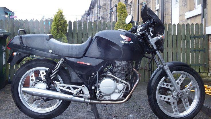 HONDA XBR 500 1988 BLACK in Cars, Motorcycles & Vehicles, Motorcycles & Scooters, Honda | eBay
