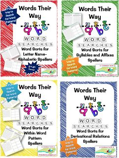 Life, Love, Literacy: Word Study Routine and Tips~Words their Way