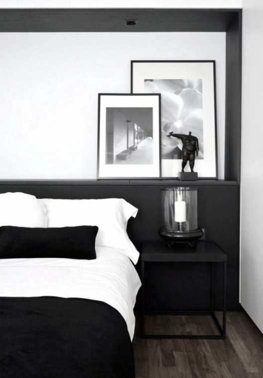 male bedroom decor modern black and white design more. Interior Design Ideas. Home Design Ideas