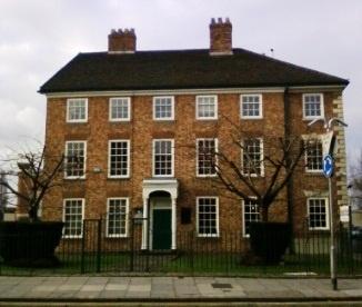 The Old Warrington Academy where Priestley tutored