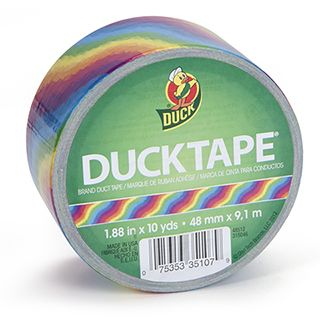 Rainbow Duck Tape® Brand Multicolor Duct Tape