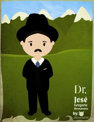 Dr Jose Gregorio Hernandez by elicoronel16.deviantart.com on @DeviantArt