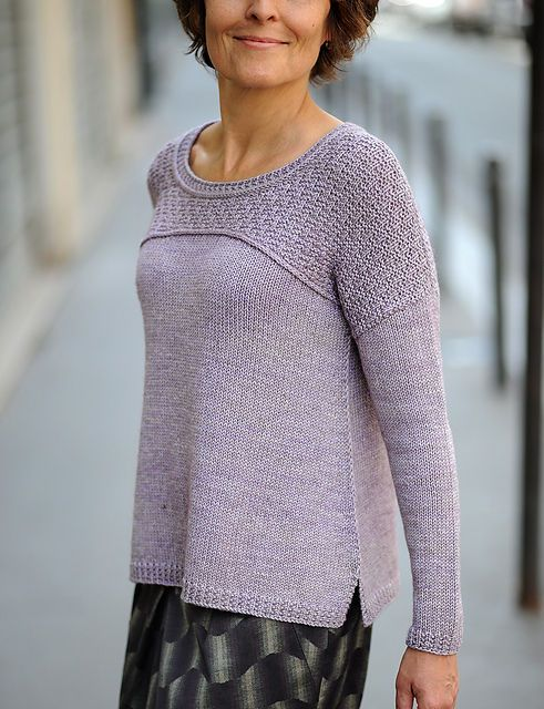 Пуловер brickyard Дизайнер: Лиз Доэрти.