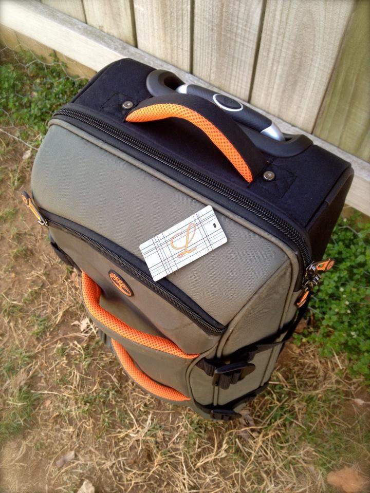Custom luggage tags. $7.95, via Etsy.