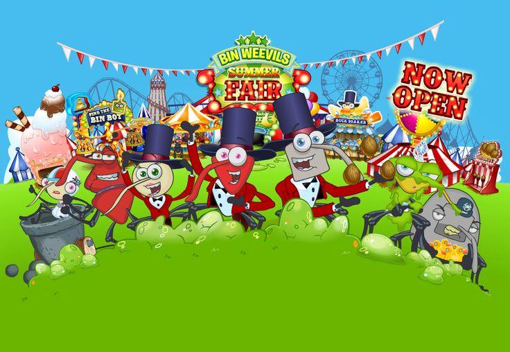 Bin Weevils Free Online Games Kids Online Virtual