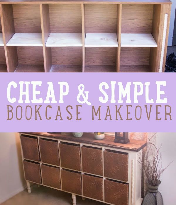 Here's a cool step by step tutorial on how you can repurpose and old book case and turn it into an amazing DIY storage. It makes an elegant DIY home decor.