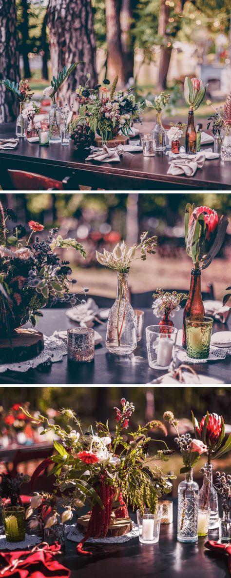 35 Originelle Tischdeko Ideen Fur Die Hochzeit Wedding Pinterest