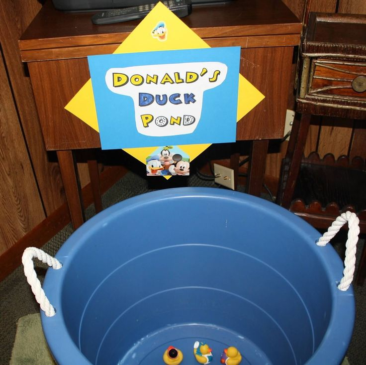 Game 2- Donald's duck pond- pick 2 ducks & try to get matching numbers.- needed a duck from Toodles to play.