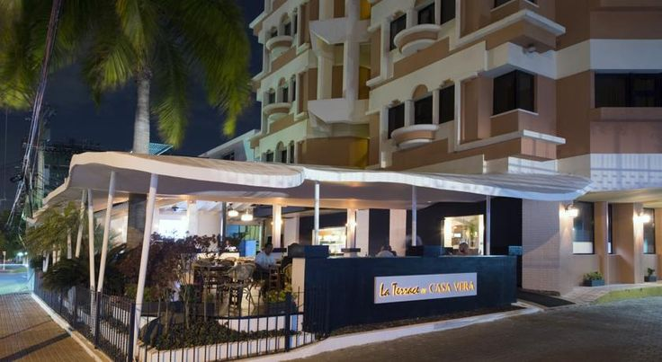 BQ Santo Domingo Hotel Santo Domingo This 4-star hotel offers free Wi-Fi, free parking, and a central location in Bella Vista, of Santo Domingo. It is a 25-minute drive from the International Airport of Las Americas.