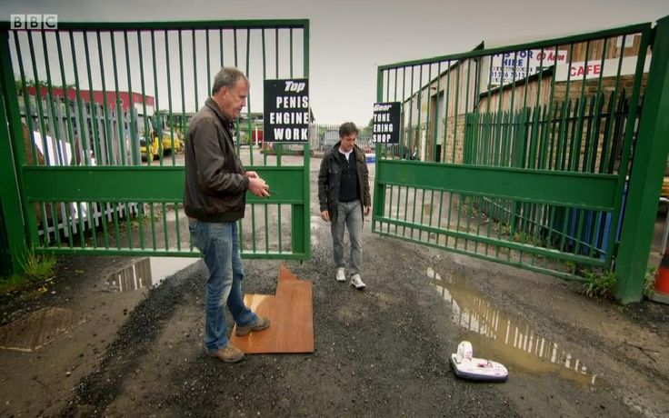 Top Gear signage