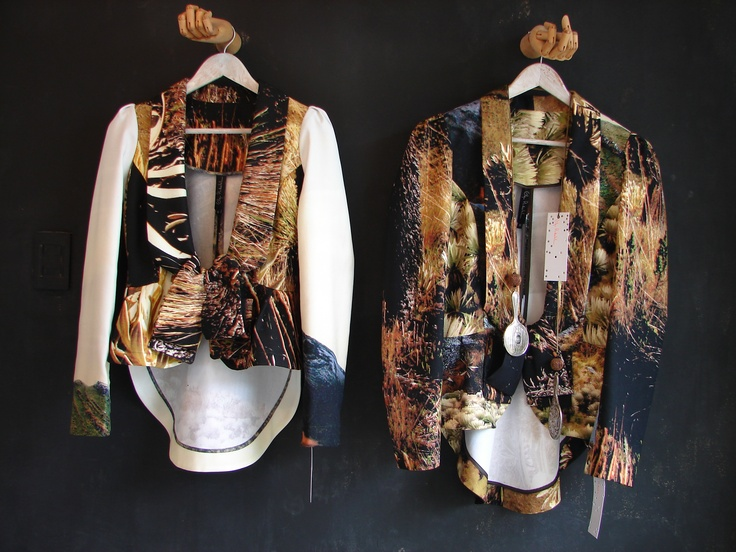 Lafayette collection jackets - Olga Piedrahita