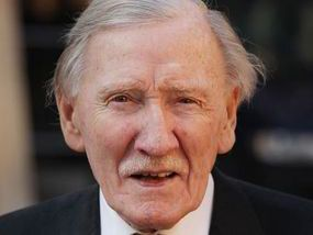 CARRY ON star Leslie Phillips was being treated in hospital last night after a seizure.