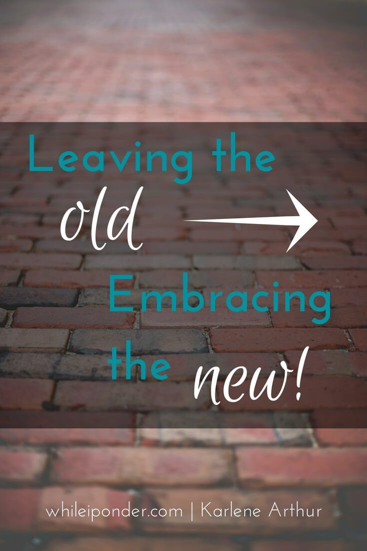 Ready to leave behind the old things holding you back? Find out how to embrace the new God has for you. It's time to enlarge and receive...