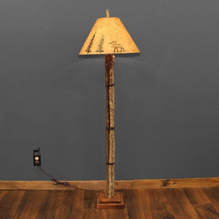 Rustic Cabin Floor Lamps : Ideas about rustic floor lamps on