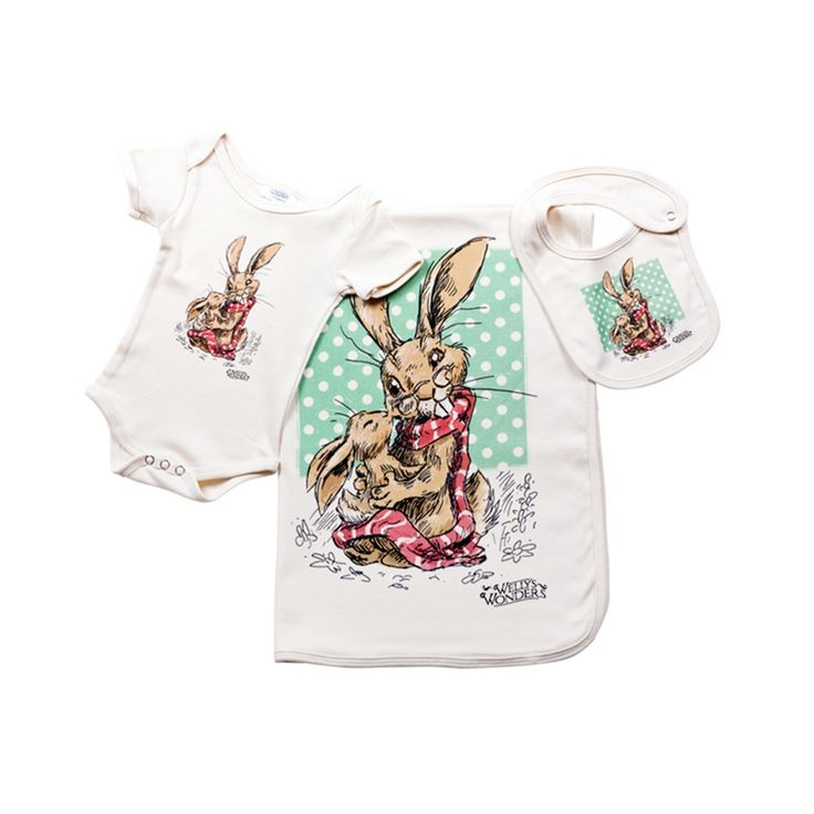 Jenkins The Hare baby gift set