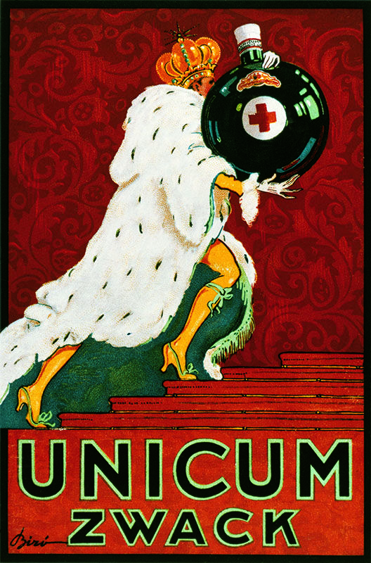 Zwack Unicum Collected by: http://www.pinterest.com/bookpublicist/ #Magyar #Hungarian #plakat #poszter #alcohol #marketing #vintage