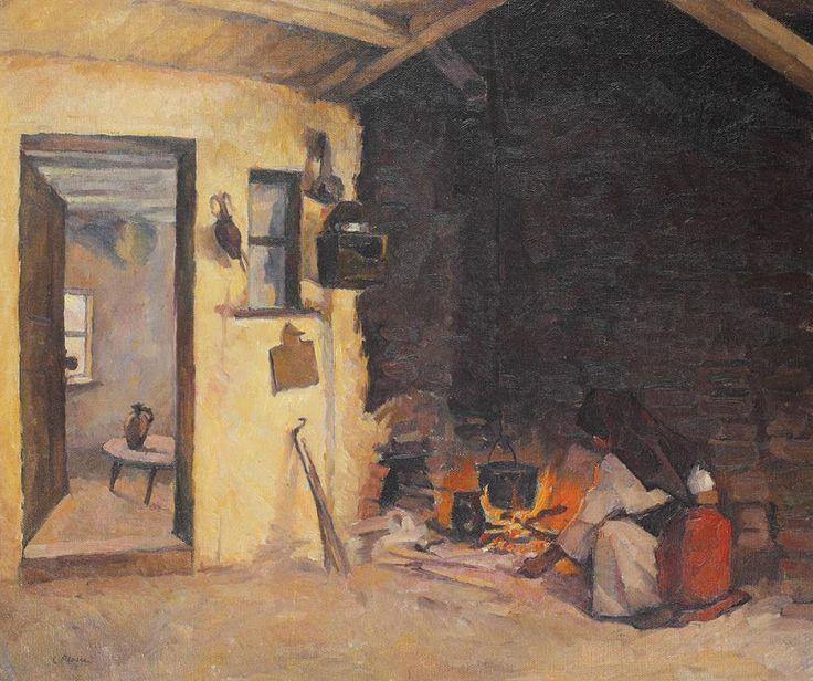 Camil Ressu - Fireplace.