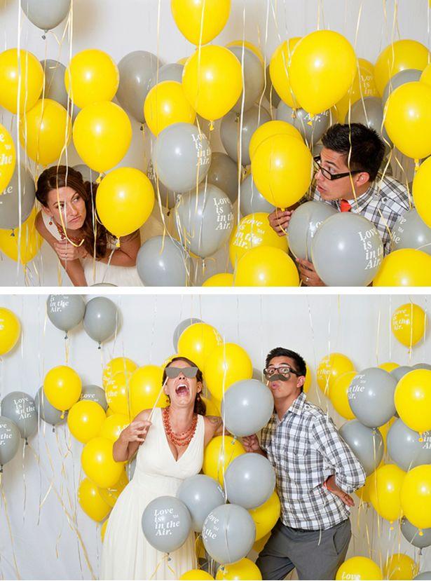 Ballons gonflés à l'Helium