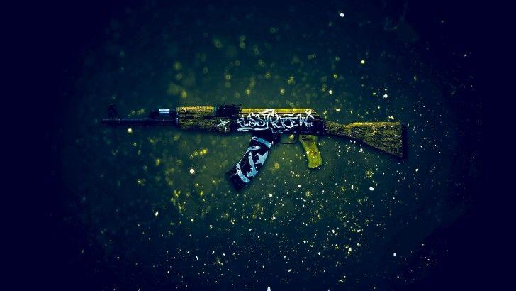 Download AK 47 Wasteland Rebel Counter Strike Global Offensive Weapon Skin 1920x1200