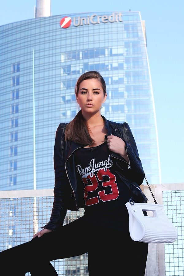 In love with my MILAN. Sophia Salaroli. Barmat Bulla White