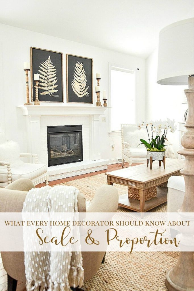 Scale And Proportion In Decorating Stonegable Decorating Mistakes Decor Family Living Rooms