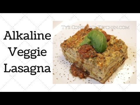 PLEASE READ DESCRIPTION Ty's Conscious Kitchen For today's recipe I make a d'elicious Alkaline Veggie Lasagna! It definitely tastes like a lasagna to me and ...