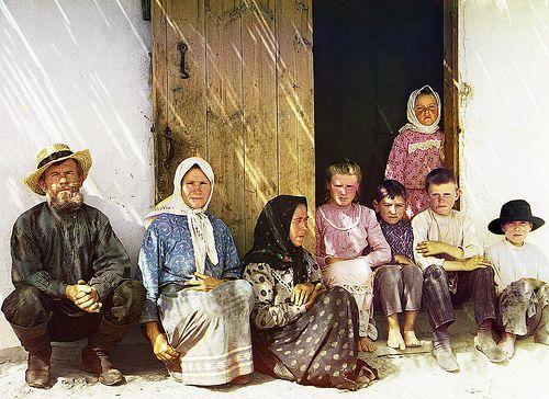 Tipica familia campesina,1909