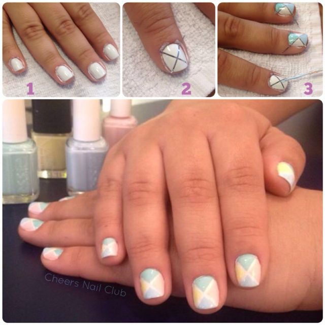 Tutorial Summer Nail Art