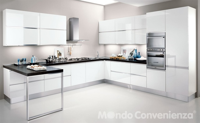 Veronica - Cucine - Moderno - Mondo Convenienza | Dream on | Pinterest