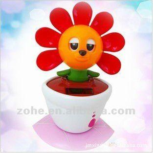 car decorative flip flap solar dancing toy
