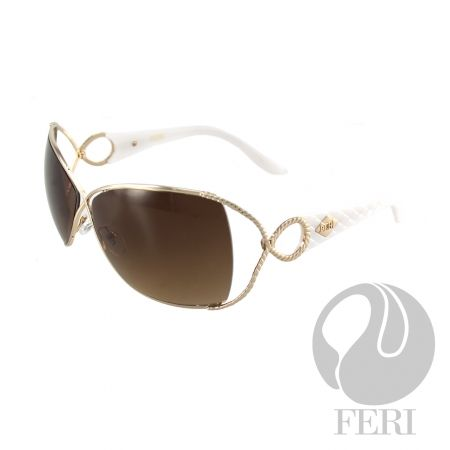 FERI Rome - Rose Gold Frame Shield - FERI frames are manufactured in Italy - Lenses are UV 400 and provide protection against harmful UV rays - Mazzucchelli acetate is used - Mazzucchelli is the world leader in acetate production - Acetate is a hypo allergenic plastic - Acetate is used for its shine, color depth and durability  Invest with confidence in FERI Designer Lines.