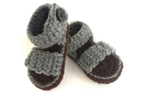 Hey, I found this really awesome Etsy listing at https://www.etsy.com/listing/228893573/crochet-baby-sandalbaby-boy-sandal