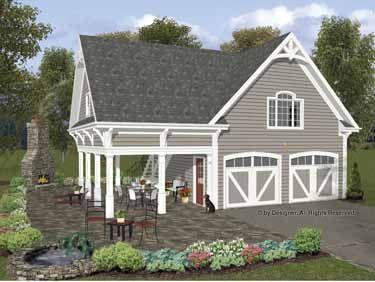 Country Traditional Garage Plan 93472 | Garage apartment plans ...