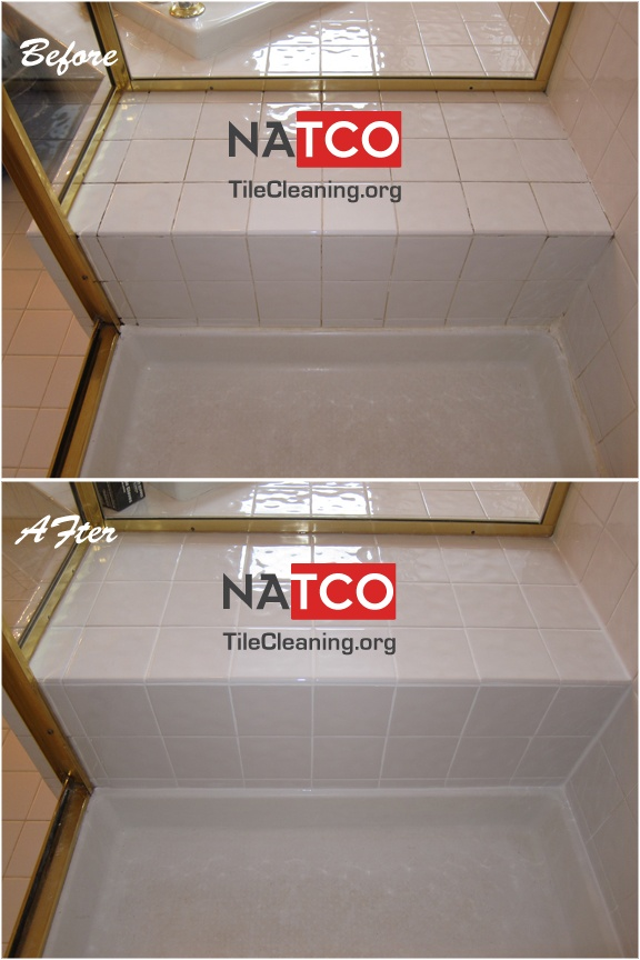 Regrouting And Tile Shower Seat Water Can Easily Leak Through Horizontal Shower Seats Regrouting