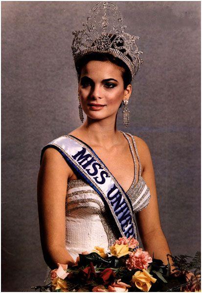 Maritza Sayalero. Miss Universe 1979