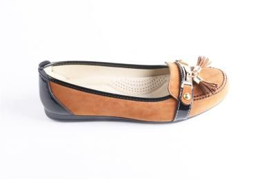 Atiker - Kadın Tpu Taban Taba Suni Deri Ayakkabı