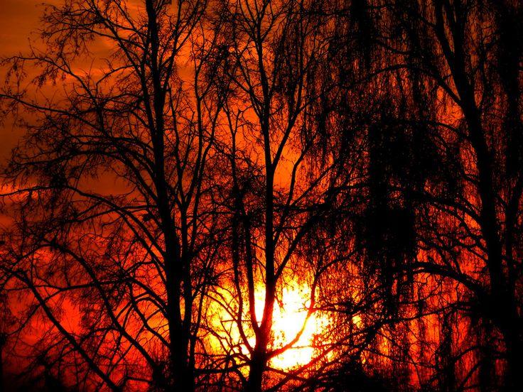 Sunset  Białystok, Poland
