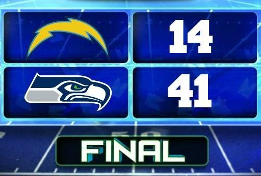 Preseason! And for the win! Seahawks!