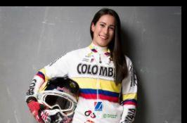 Mariana Pajon Colombian Olympic BMX gold medalist.