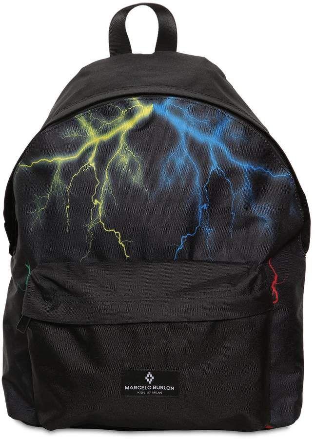 7f935039f8 Arrow Printed Nylon Canvas Backpack