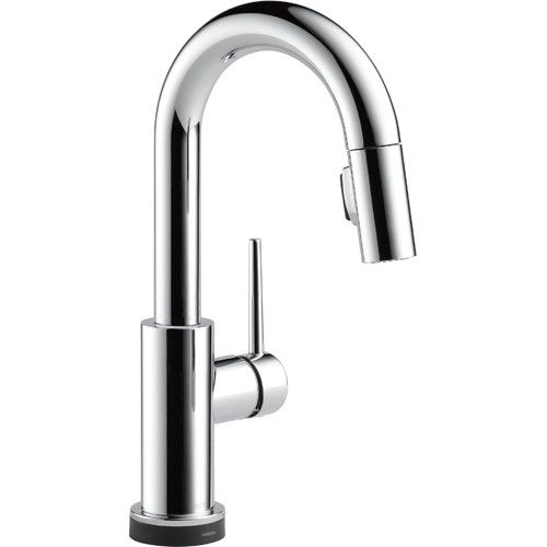 Found it at Wayfair - Trinsic® Kitchen Touchless Single Handle Pull Down Bar Faucet