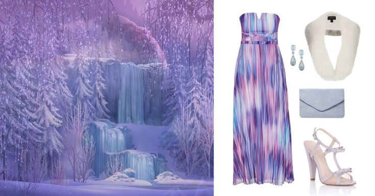 4 outfits inspired by classic Disney scenes | Frozen | [ http://di.sn/6003BfZRl ]