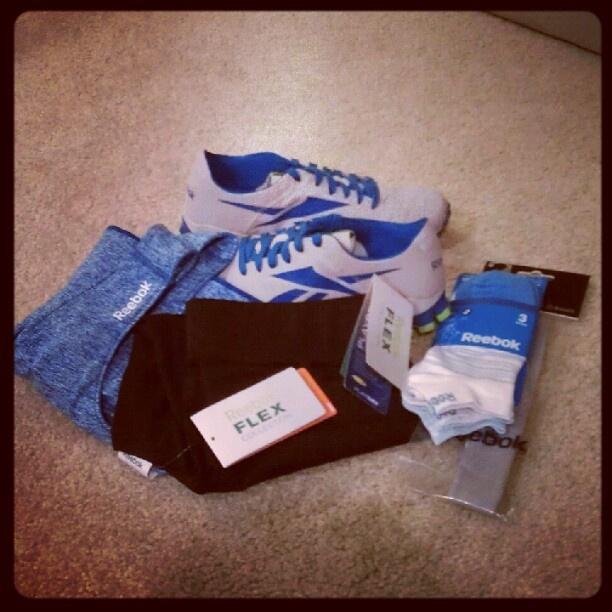 Loving ALL of my new @reebok_usa gear! #getafterit #fitfluential