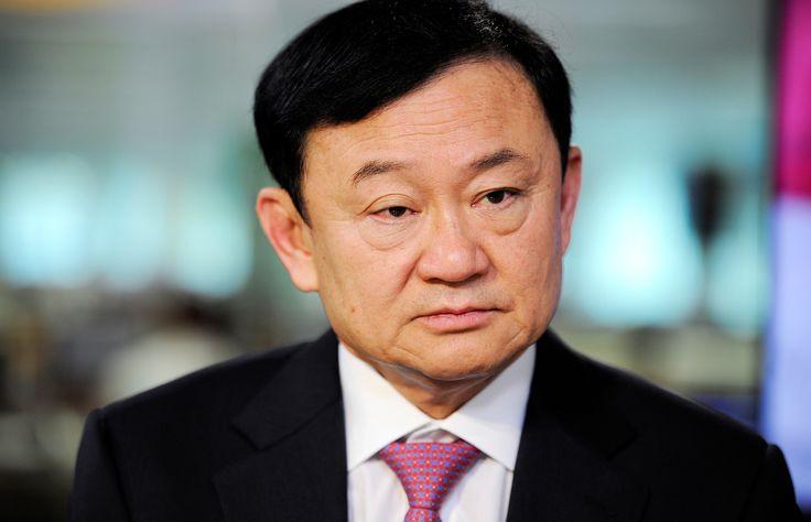 พ.ต.ท.ทักษิณ ชินวัตร อดีตนายกรัฐมนตรี - Munshi Ahmed/Bloomberg