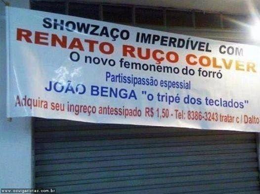O brasileiro sabe valorizar seus atributos. | 17 imagens que são o mais puro suco de Brasil