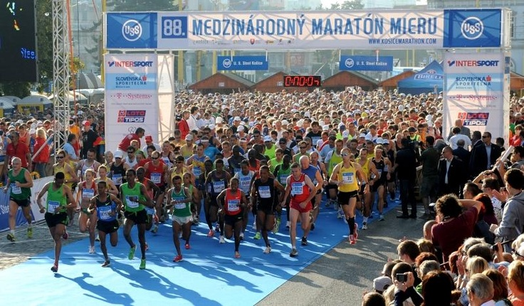 oldest in Europe and world´s second oldest International Peace Marathon 		– held in Košice, Slovakia, every first Sunday in October
