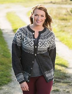 1416-13 Setesdalkofte by Berit Ramsland...free pattern, Norwegian and Swedish