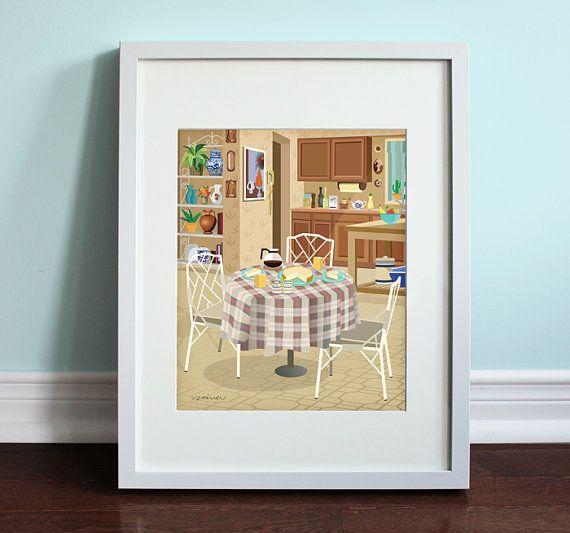 The Golden Girls Kitchen  The Golden Girls by BeautifulPeaceShop