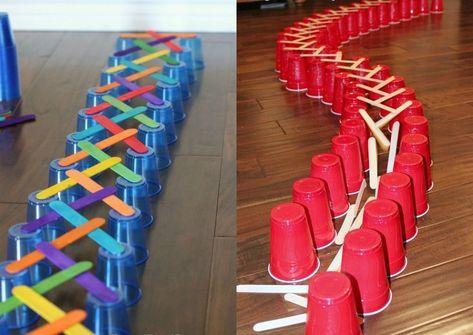 Spiel Brücken Bauen