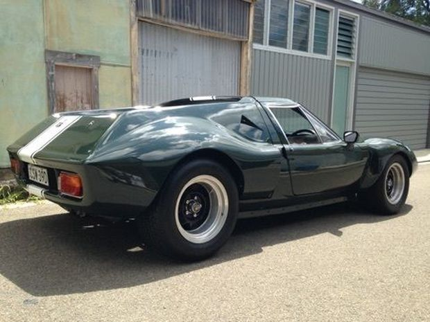 This 1969 Lotus Europa S2 was imported into Australia when new and sounds to have been transformed into a Type 62 replica soon afterward. The car looks to be in very nice shape, and its flared 62-style bodywork conceals a retrofitted rear subframe and suspension from that same model. Power comes fro